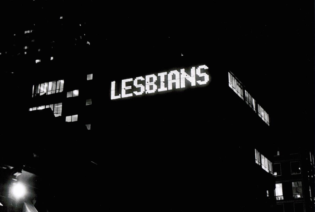 Lynne Fernie, Lesbians Fly Air Canada