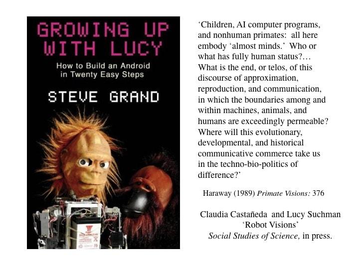 Lucy Suchman, presentation slide 5