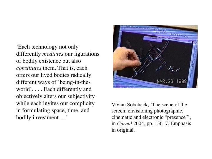 Lucy Suchman, presentation slide 7